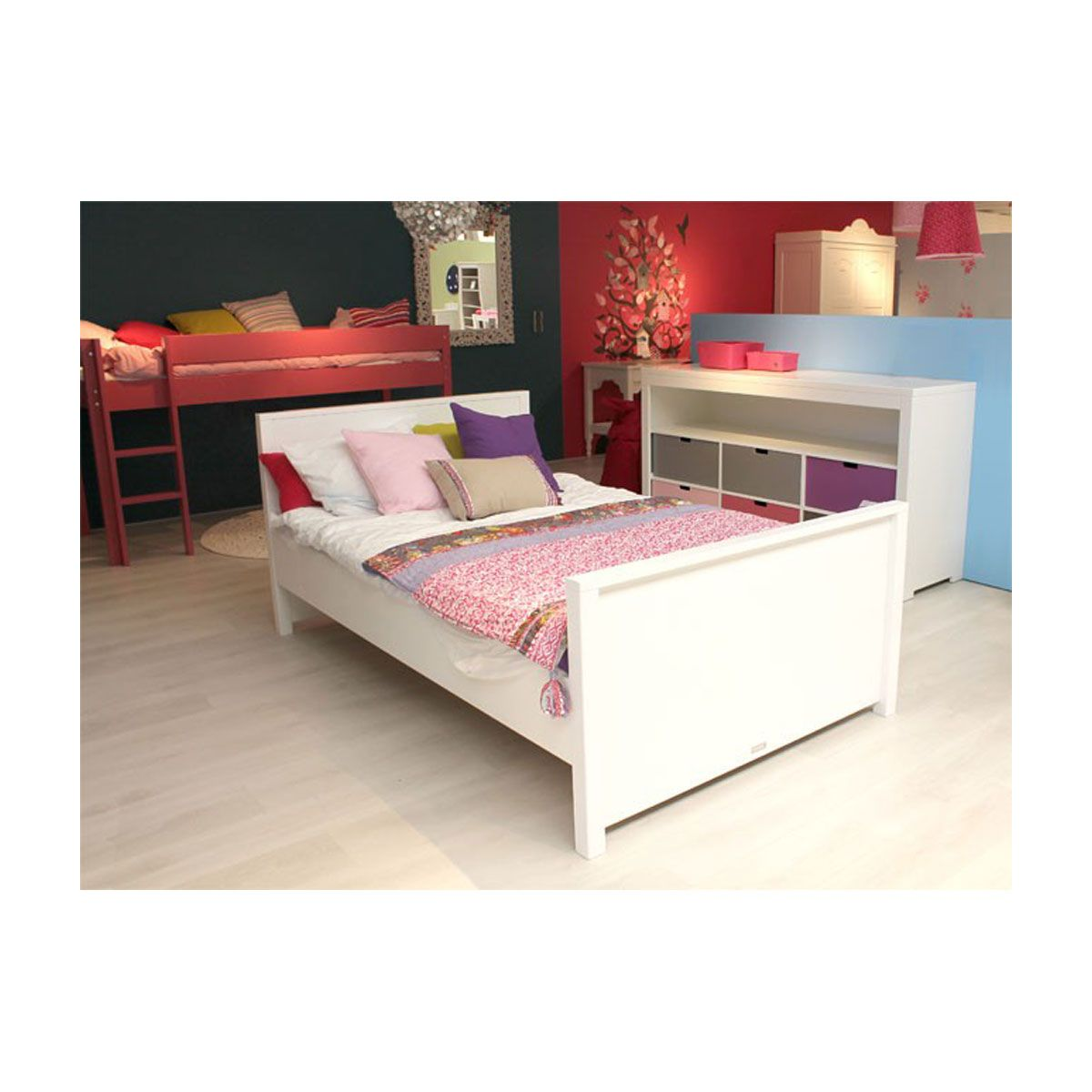 bopita mix match doppelbett wei portofrei kaufen. Black Bedroom Furniture Sets. Home Design Ideas