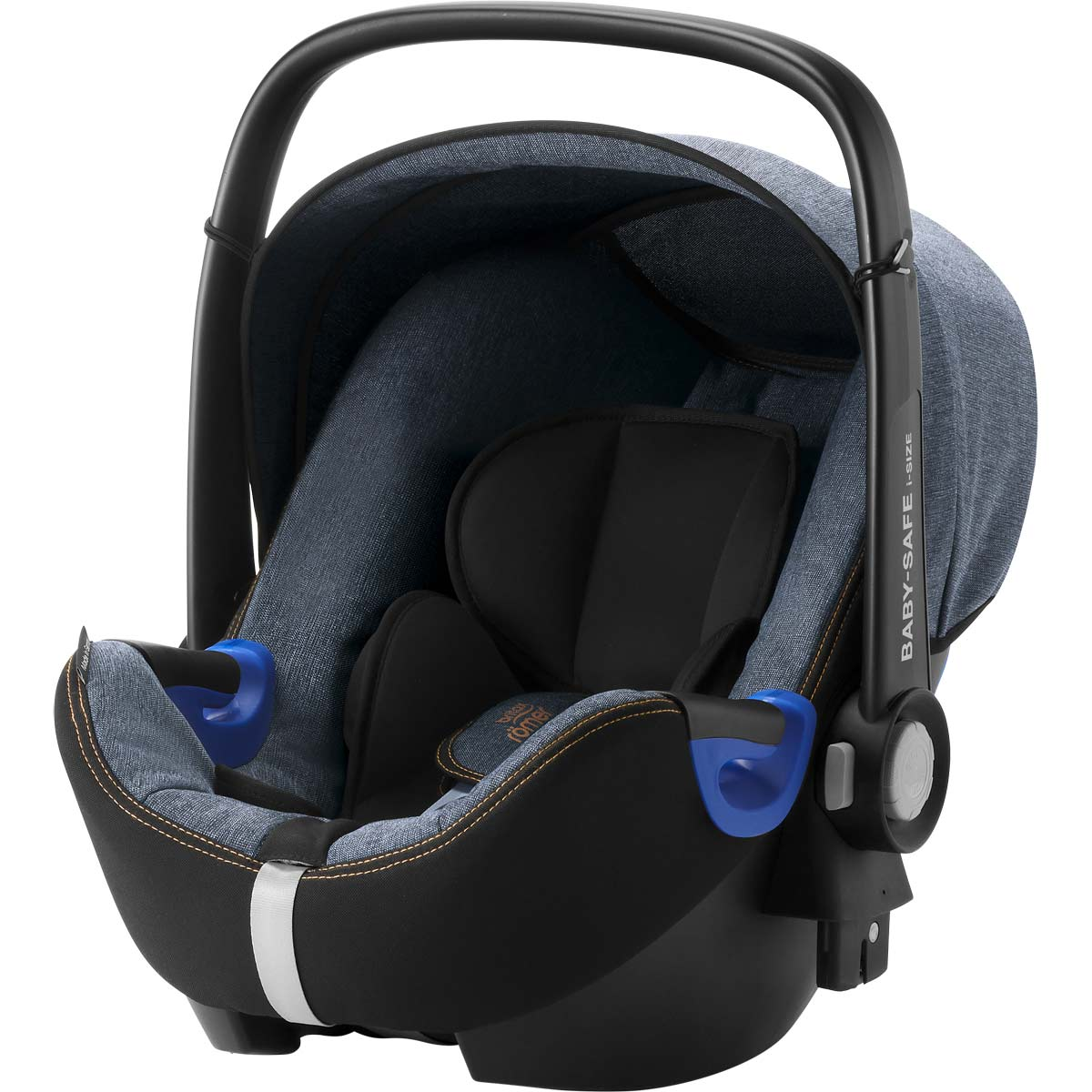 britax r mer baby safe i size bundle blue marble. Black Bedroom Furniture Sets. Home Design Ideas