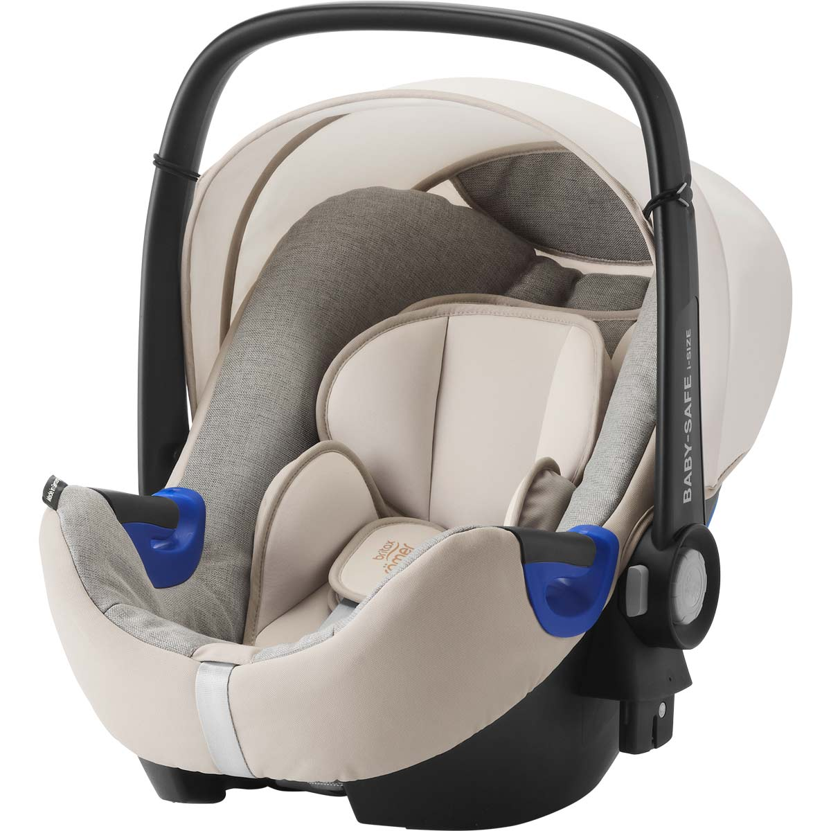 britax r mer baby safe i size bundle sand marble. Black Bedroom Furniture Sets. Home Design Ideas