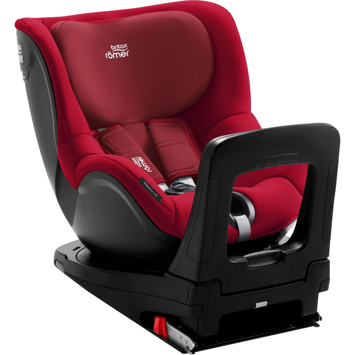 britax r mer dualfix i size flame red. Black Bedroom Furniture Sets. Home Design Ideas