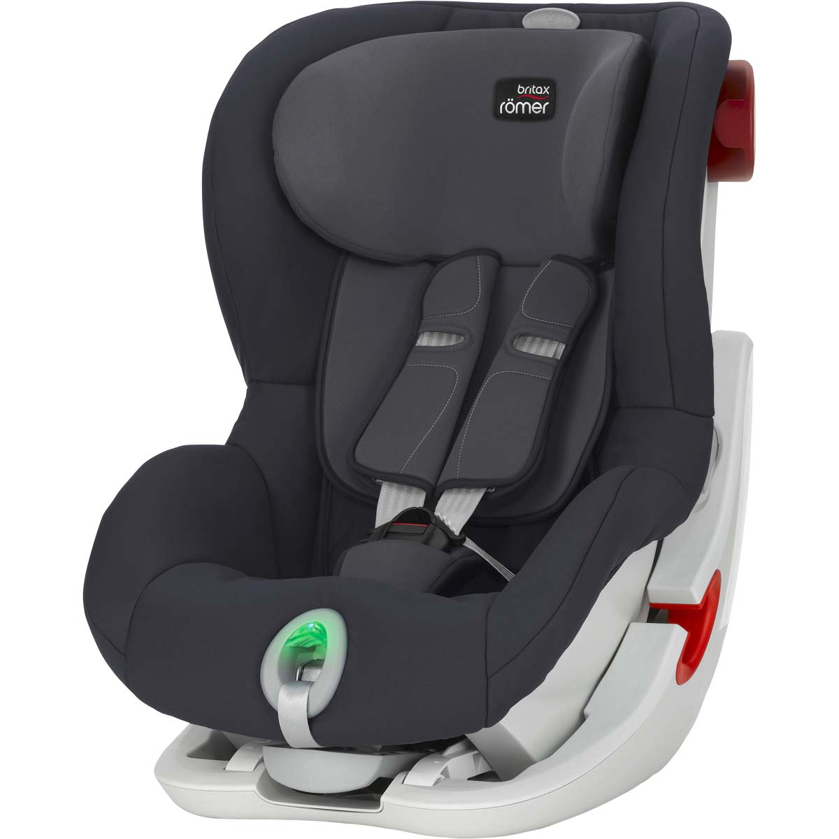 britax r mer king ii ats autokindersitz storm grey. Black Bedroom Furniture Sets. Home Design Ideas