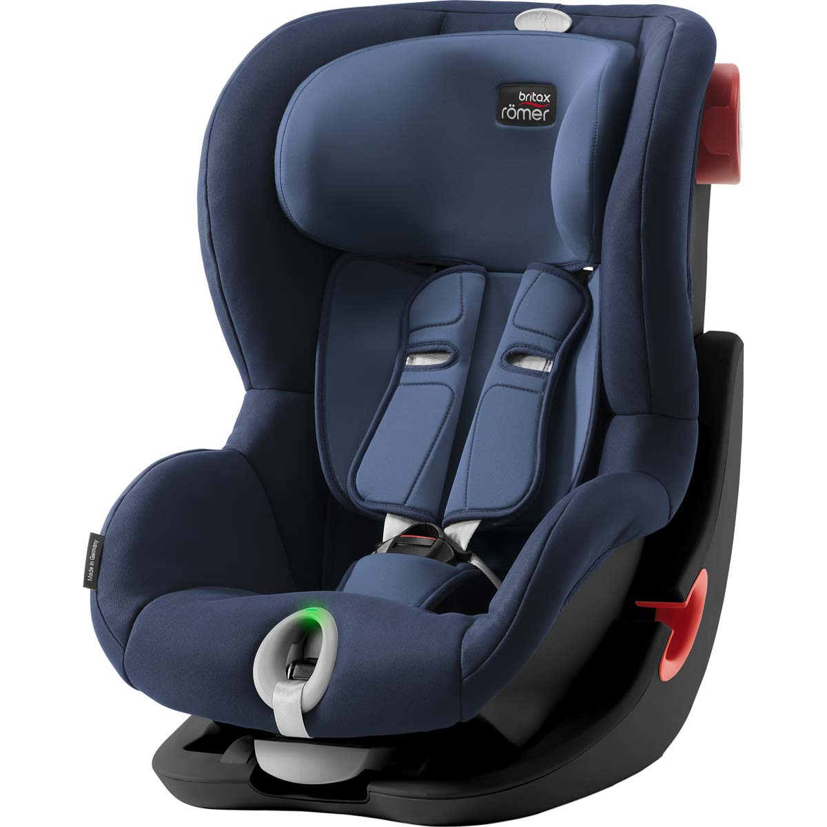 britax r mer king ii ls black series moonlight blue. Black Bedroom Furniture Sets. Home Design Ideas
