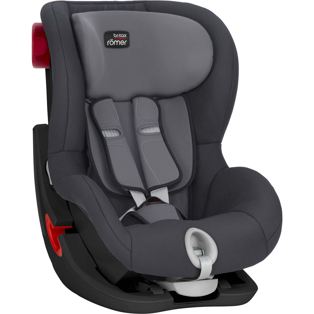britax r mer king ii black series storm grey. Black Bedroom Furniture Sets. Home Design Ideas