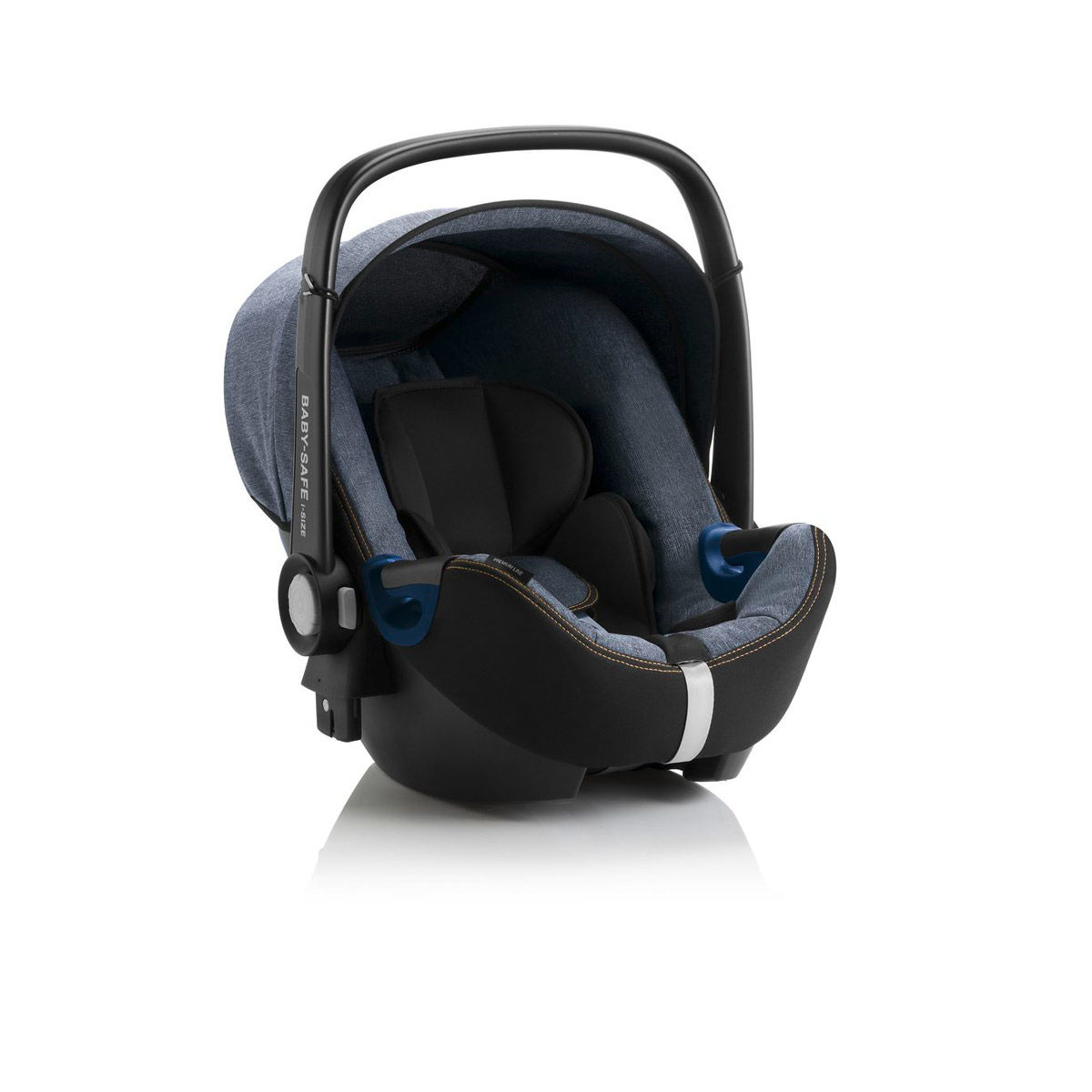 britax r mer baby safe2 i size bundle blue marble. Black Bedroom Furniture Sets. Home Design Ideas