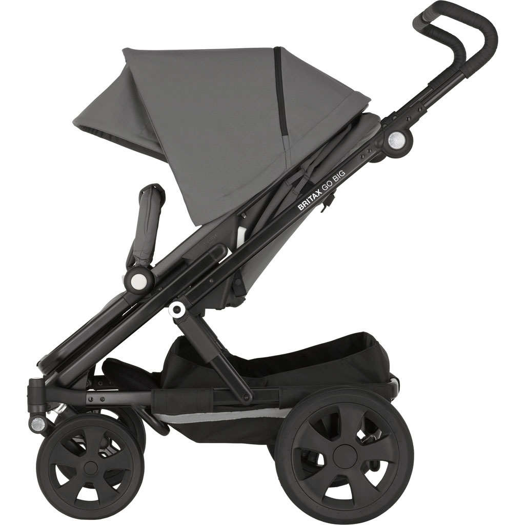 britax go big kinderwagen cosmos black zum aktionspreis. Black Bedroom Furniture Sets. Home Design Ideas
