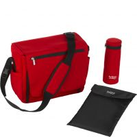 Wickeltasche Flame Red