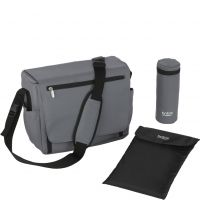 Wickeltasche Steel Grey