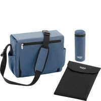 Wickeltasche Blue Denim