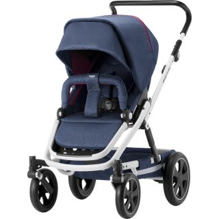 Britax Go Big 2 White Oxford Navy