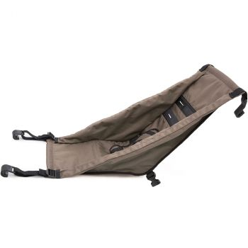 mit 2 Babysitzen Kid/Kid Plus in sand grey