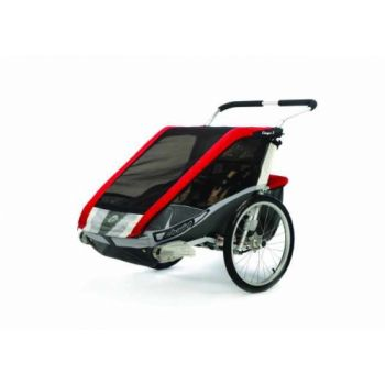 Thule Chariot CTS Cougar 2 rot  Fahrradanhänger