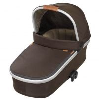 mit Oria Kinderwagenaufsatz (faltbar) Earth brown
