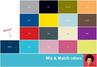 Mix & Match Farben