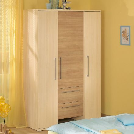 paidi sophia kleiderschrank 3t 2s schmal. Black Bedroom Furniture Sets. Home Design Ideas