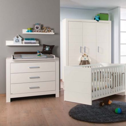 paidi leo sparset kirsche hav ecru babybett wickelkommode. Black Bedroom Furniture Sets. Home Design Ideas