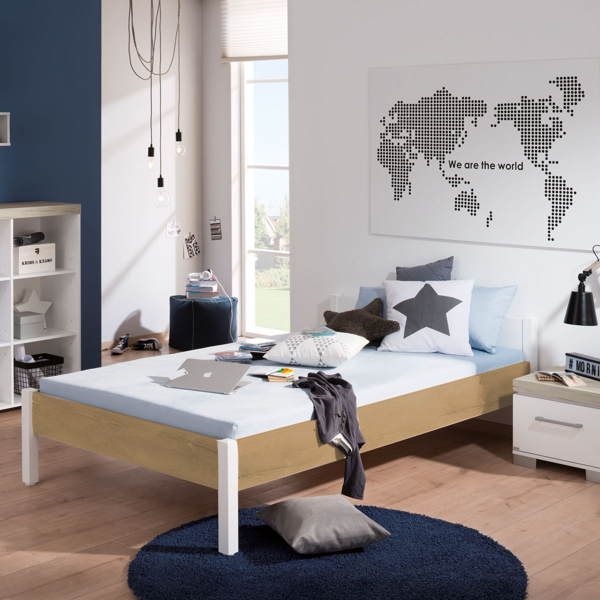 paidi kira jugendzimmer mit 2 t rigem schrank nebraska. Black Bedroom Furniture Sets. Home Design Ideas