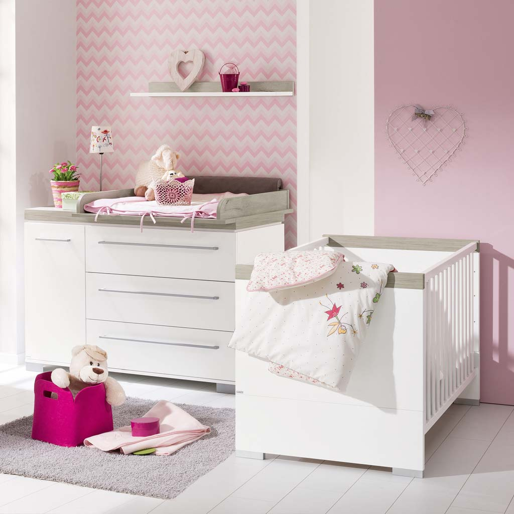 paidi kira sparset nautik babybett wickelkommode. Black Bedroom Furniture Sets. Home Design Ideas