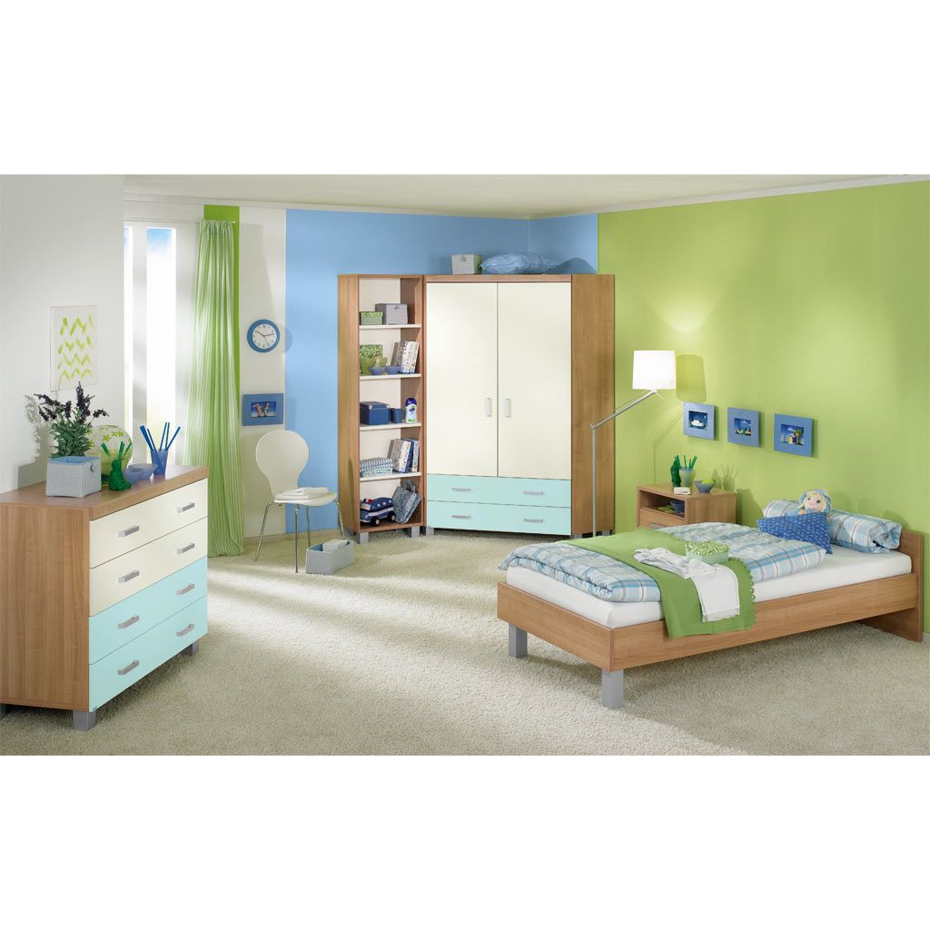 paidi leo jugendzimmer kirsche hav ecru bleu. Black Bedroom Furniture Sets. Home Design Ideas