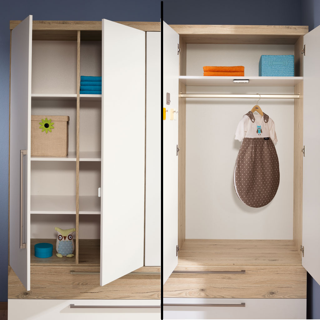 paidi remo kleiderschrank 4 t ren 2 schubladen online kaufen. Black Bedroom Furniture Sets. Home Design Ideas