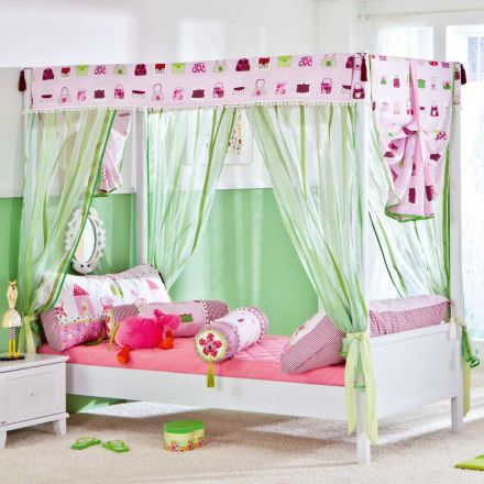 kinderzimmer dekor baldachin. Black Bedroom Furniture Sets. Home Design Ideas