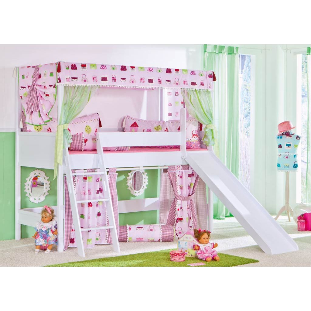 paidi sophia baldachin spielbett 125 cm icy white. Black Bedroom Furniture Sets. Home Design Ideas