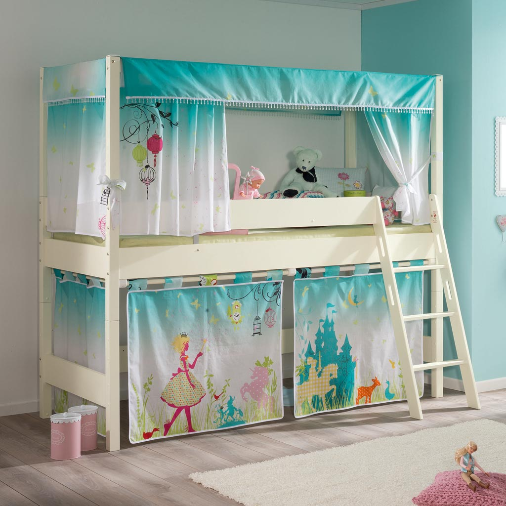 paidi biancomo baldachin spielbett 125 m rchenzauber. Black Bedroom Furniture Sets. Home Design Ideas