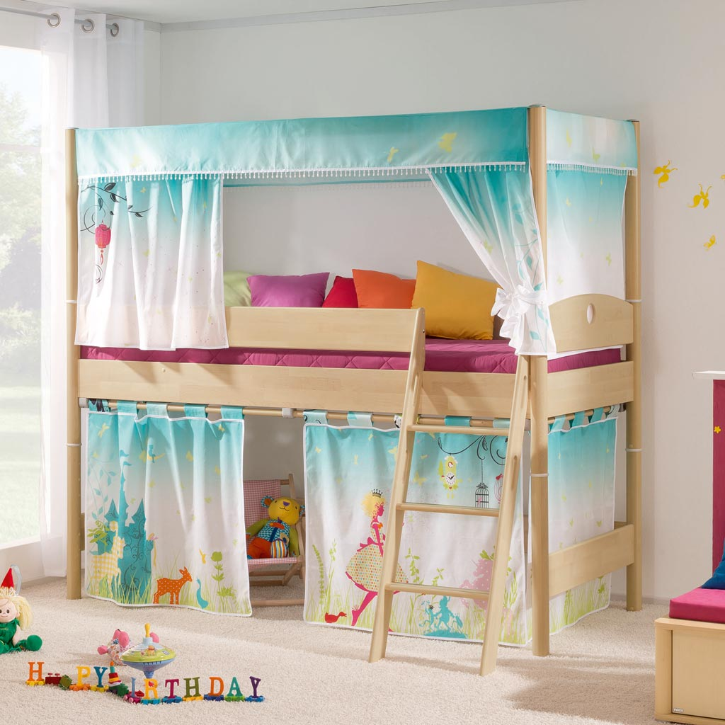 paidi fleximo baldachin spielbett 125 m rchenzauber. Black Bedroom Furniture Sets. Home Design Ideas