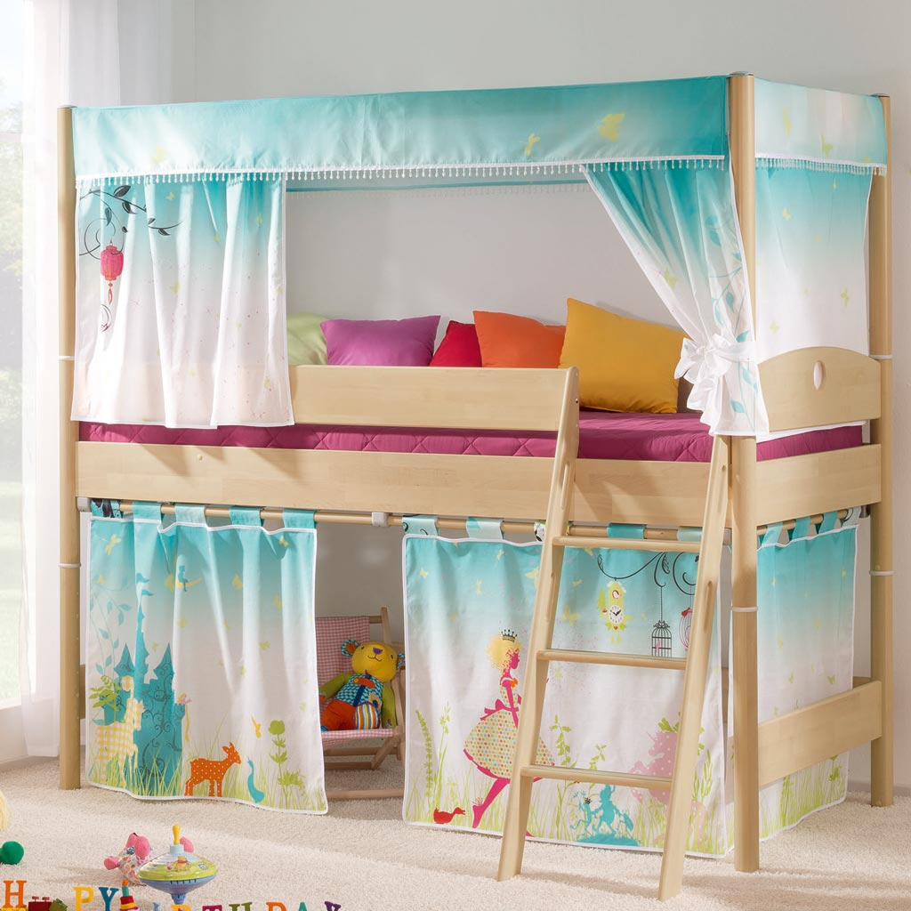 paidi varietta spielbett 125 cm buche massiv. Black Bedroom Furniture Sets. Home Design Ideas