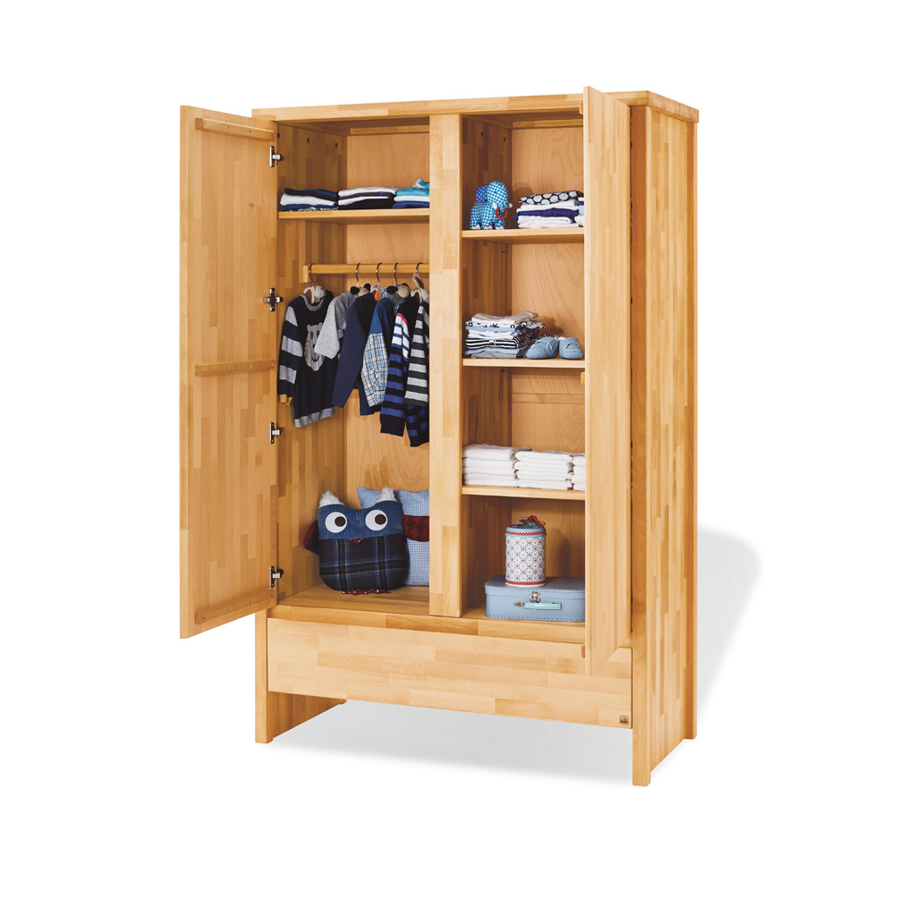 pinolino kleiderschrank fagus 2 t rig frachtfrei. Black Bedroom Furniture Sets. Home Design Ideas