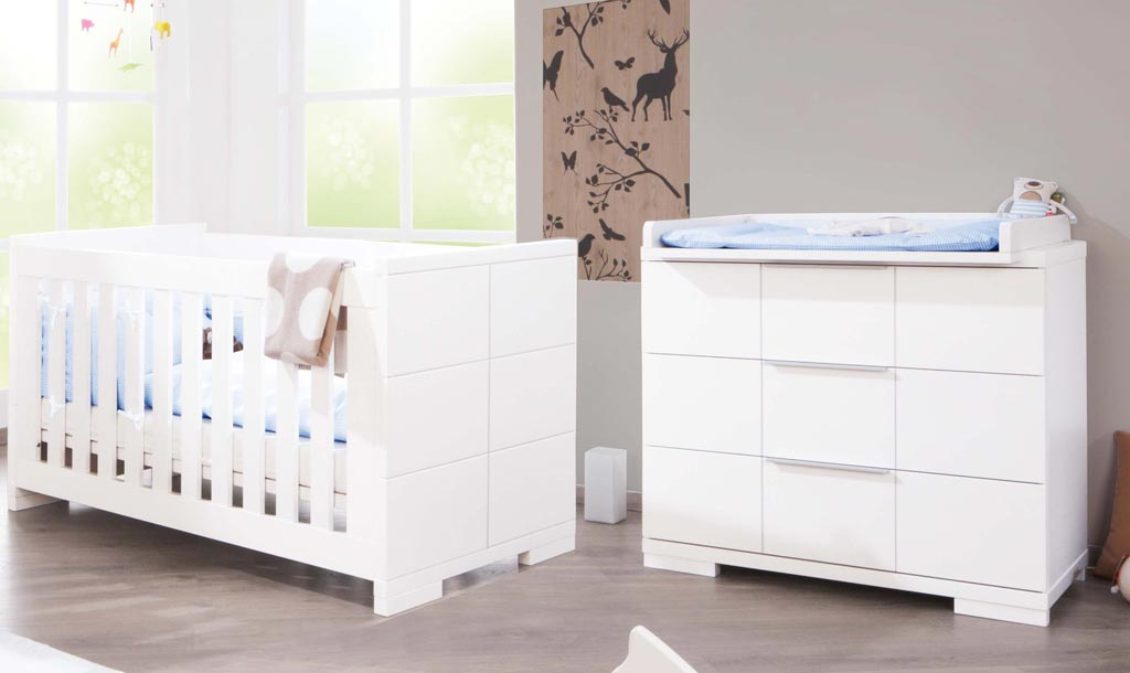 pinolino polar kinderzimmer sparset versandkostenfrei. Black Bedroom Furniture Sets. Home Design Ideas