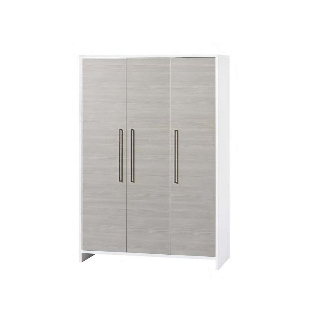 schardt kleiderschrank eco silber 3 t rig. Black Bedroom Furniture Sets. Home Design Ideas