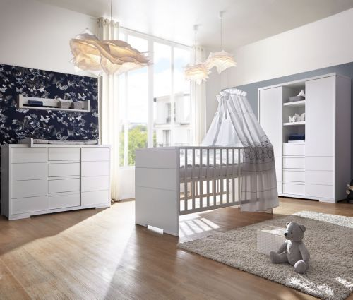 schardt maxx white komplettkinderzimmer schrank 2t. Black Bedroom Furniture Sets. Home Design Ideas