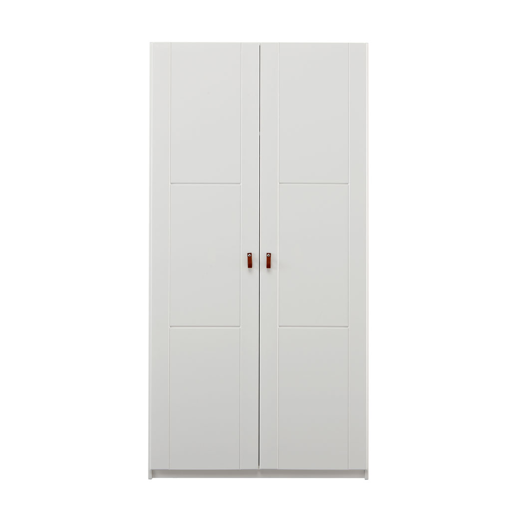 lifetime kleiderschrank 2 t rig 100 cm birke wei. Black Bedroom Furniture Sets. Home Design Ideas