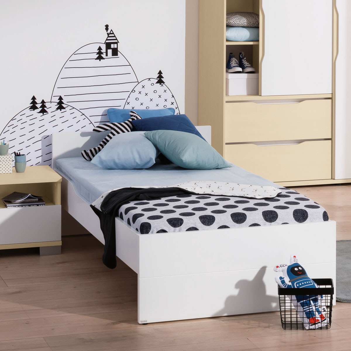 paidi mia ben jugendzimmer mit gratis lieferung. Black Bedroom Furniture Sets. Home Design Ideas