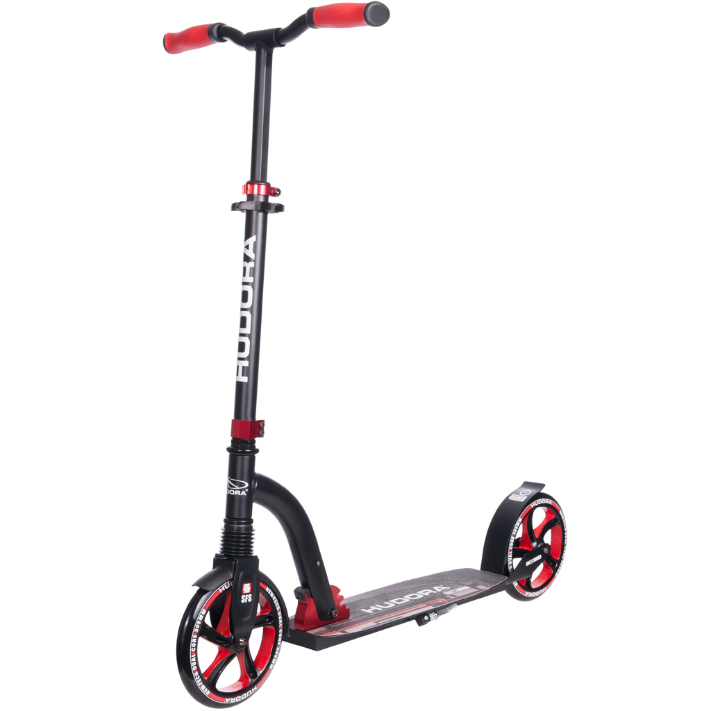 hudora big wheel flex 200 rot scooter zum aktionspreis. Black Bedroom Furniture Sets. Home Design Ideas