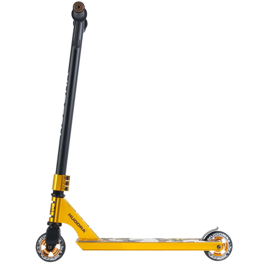 hudora stunt scooter xr 25 gold zum aktionspreis kaufen. Black Bedroom Furniture Sets. Home Design Ideas