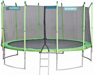 hudora family trampolin 400 zum aktionspreis. Black Bedroom Furniture Sets. Home Design Ideas