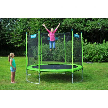 hudora family trampolin 250 cm zum aktionspreis. Black Bedroom Furniture Sets. Home Design Ideas