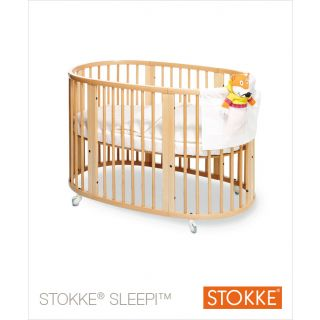 stokke sleepi kinderbett farbe natur. Black Bedroom Furniture Sets. Home Design Ideas