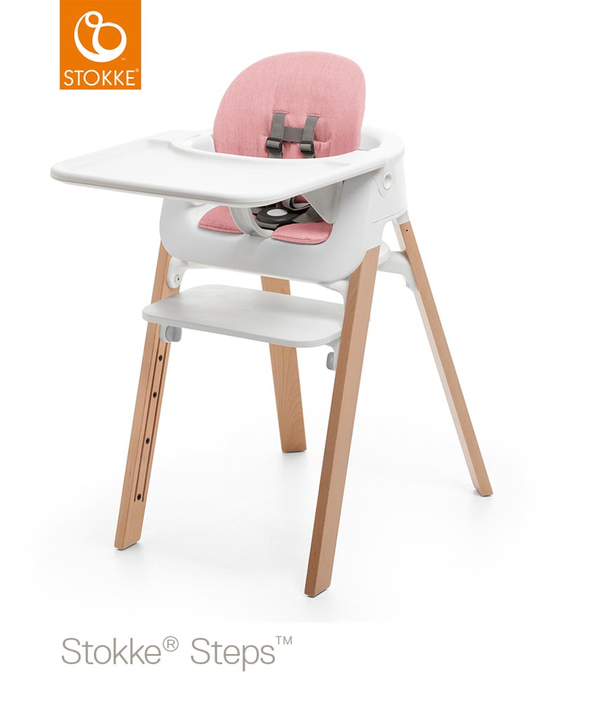 stokke steps baby set kissen pink zum toppreis. Black Bedroom Furniture Sets. Home Design Ideas