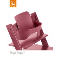 mit Tripp Trapp® Baby Set™ in Farbe Heather pink