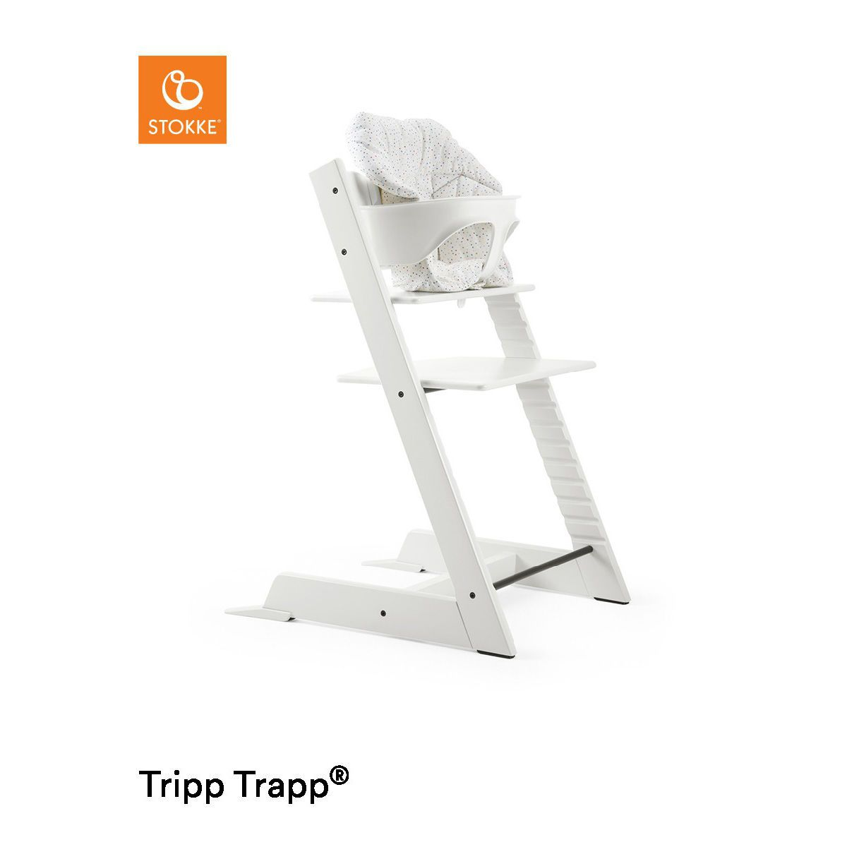 stokke tripp trapp mit babyset kissen. Black Bedroom Furniture Sets. Home Design Ideas