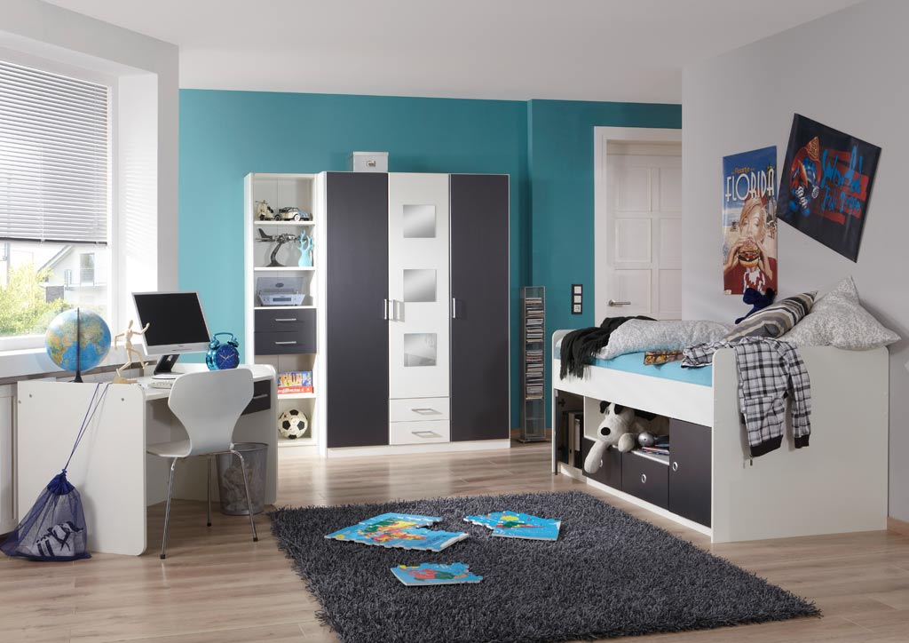 wimex rocco jugendzimmer vierteilig top preis. Black Bedroom Furniture Sets. Home Design Ideas