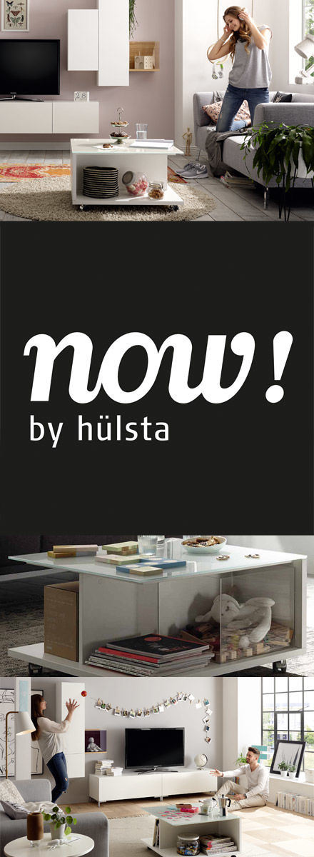 now! coffee tables by hülsta