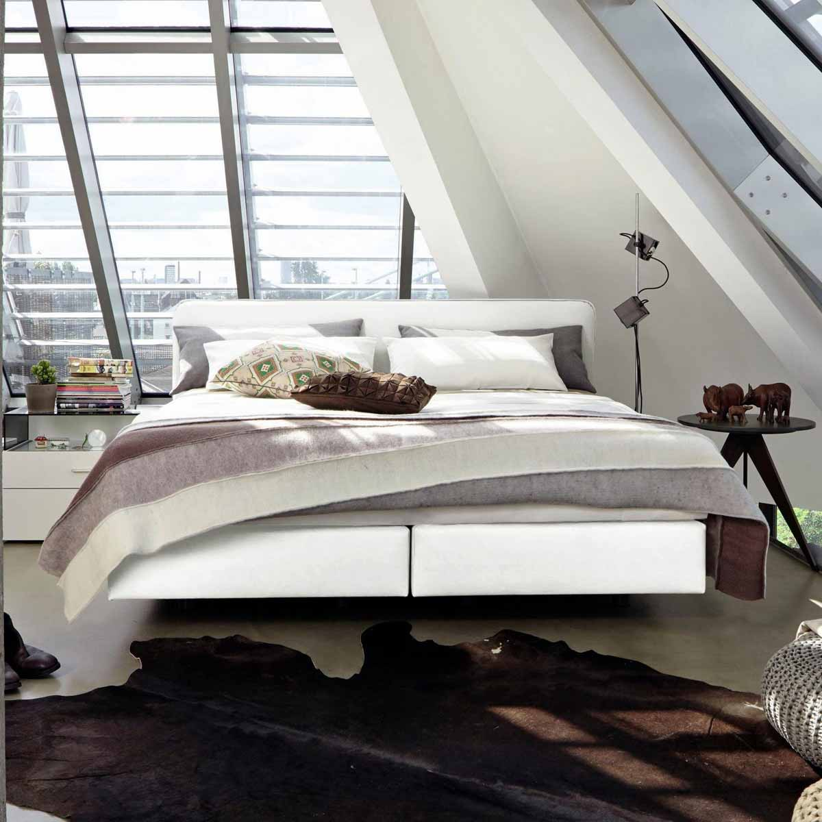 now by h lsta boxspringbett b kunstleder protex. Black Bedroom Furniture Sets. Home Design Ideas