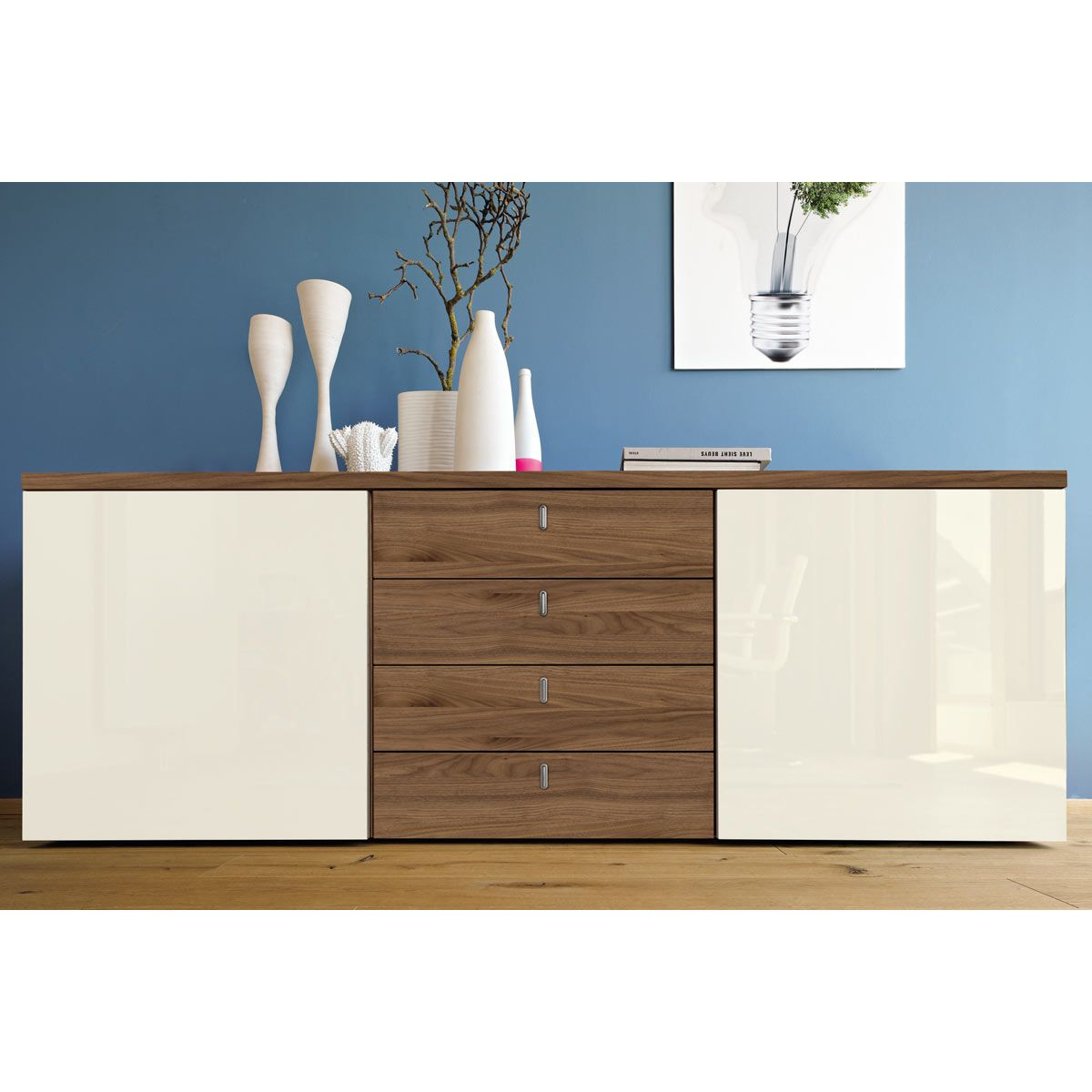 Now Time By Hülsta Sideboard Mit 4 Schubladen