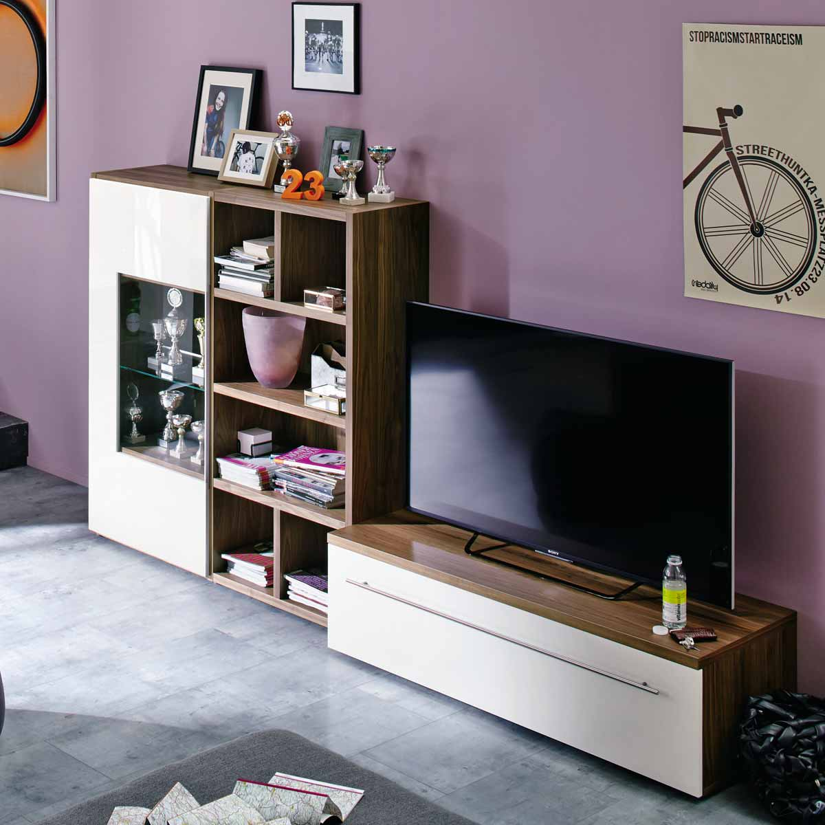 now time by h lsta kombination 2. Black Bedroom Furniture Sets. Home Design Ideas