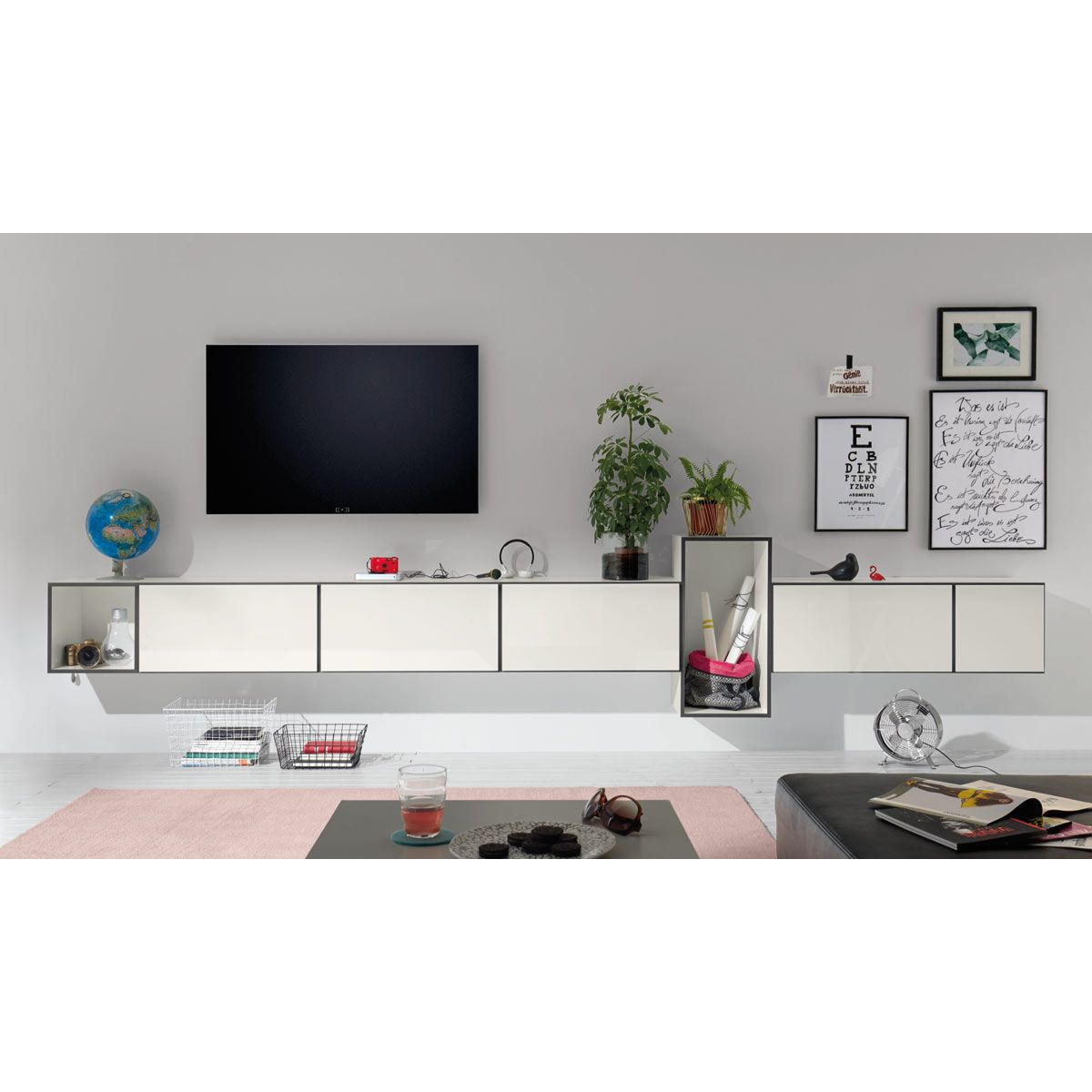 h lsta now to go kombination 3 mit 7 boxen schneewei. Black Bedroom Furniture Sets. Home Design Ideas