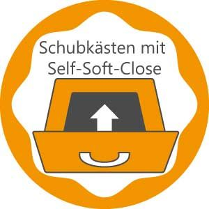 Schubladen mit Self-Soft-Close
