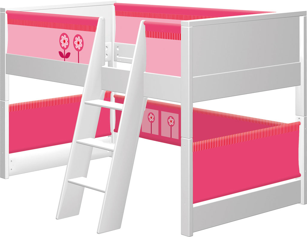 haba spielbett matti in wei zum aktionspreis. Black Bedroom Furniture Sets. Home Design Ideas